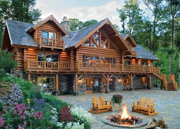 Дизайн проект деревянного дома фото